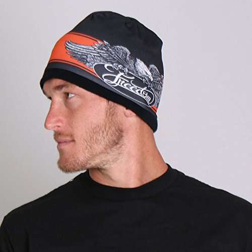 freedom-eagle-soft-cotton-with-bright-sublimated-design-snug-fit-beanie-black