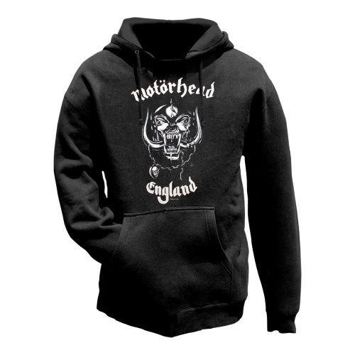 Motörhead -  Felpa con cappuccio  - Con cappuccio  - Maniche lunghe  - Uomo nero XXL