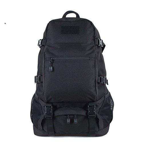 Militärische Enthusiasten camping Wanderrucksack/Outdoor-Bergsteigen-Tasche-schwarz 35L schwarz