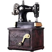 Vosarea Vintage Resina máquina de Coser Mini Retro Tablero de la Mesa Muebles Antiguos decoración Pluma