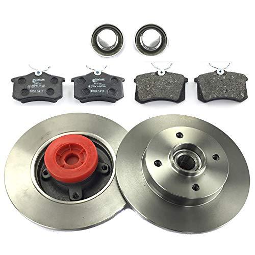 2 X disco freno + pastiglie freno posteriore NB Parts Germany 10070849