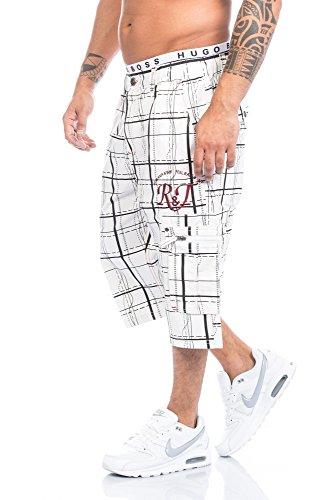 Raff&Taff -  Pantaloncini  - Uomo Weiß-001