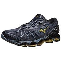 Mizuno Men's Wave Prophecy 7 Running Shoes, black/ombre blue, 10.5 D US
