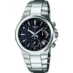 Casio SHE-5019D-1AEF - Reloj de pulsera Mujer, Acero inoxidable, color Plata