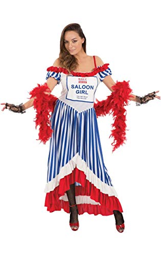 Kostüm Fancy Tesco Dress - ORION COSTUMES Value Fancy Dress Female Saloon Girl Costume