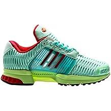 size 40 3380c fa51e adidas Originals Climacool 1, Frozen Green-Semi Frozen Yellow-Core Red, 3