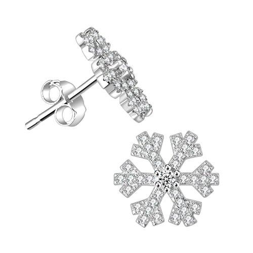 isuperb-orecchini-a-perno-in-argento-925sterling-argento-frizzante-fiocco-di-neve-a-forma-di-stella-