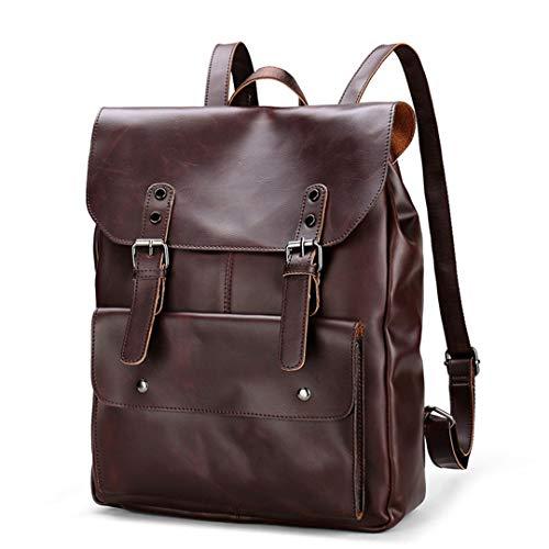 Männer Große Kapazität Tasche Reiserucksack Wasserdicht College Flut Casual Männer Rucksäcke Schultasche Für Jugendliche Brown