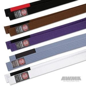 ProForce Jiu-Jitsu Belts - Purple - Size A3 (Jitsu Purple Jiu Belt)