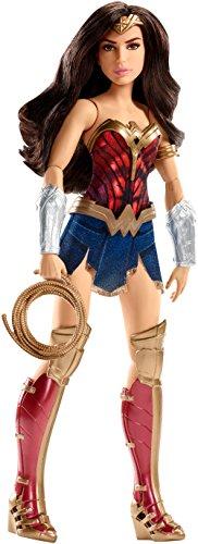 DC Comics FDF35Battle-Ready Wonder Woman Puppe, Actionfigur, bereit für den Kampf