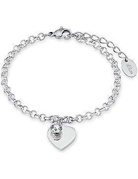s.Oliver - Armband HERZ mit persönlicher GRAVUR, SO1346/01