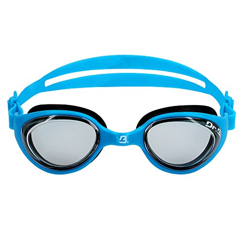 Barracuda Dr.B Junior Optical Swim Goggle Future RX - Corrective Lenses, Anti-Fog UV Protection, Comfortable No Leaking Easy Adjusting, Youth Swim Goggles for Children Kids Ages 6~12 IE-73195 (-2.5)