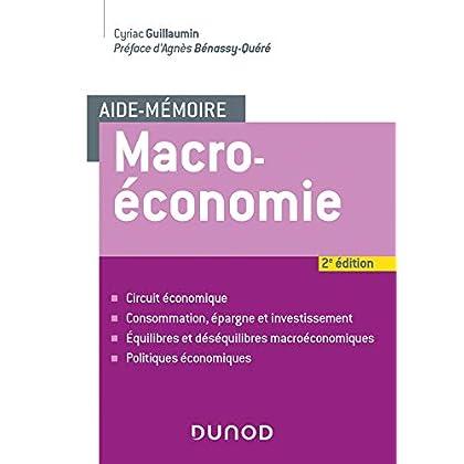 Aide-mémoire - Macroéconomie - 2e éd.