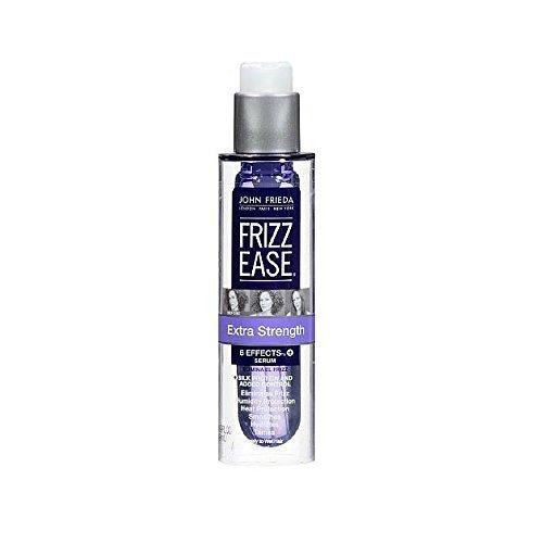 John Frieda - Sérum capillaire formule extra-forte Frizz-Ease - Pour cheveux frisottés drus à très drus - 50 ml (Lot de 6)