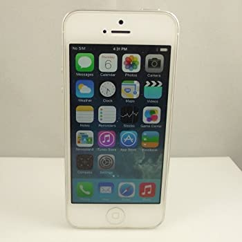 APPLE IPHONE 5 16GB SILVER WHITE
