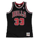 Mitchell & Ness Scottie Pippen #33 Chicago Bulls 1997-98 Swingman NBA Trikot SCHWARZ, XXL