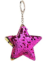 ba2293aa784d Amazon.in  Pink - Keyrings   Keychains   Travel Accessories  Bags ...