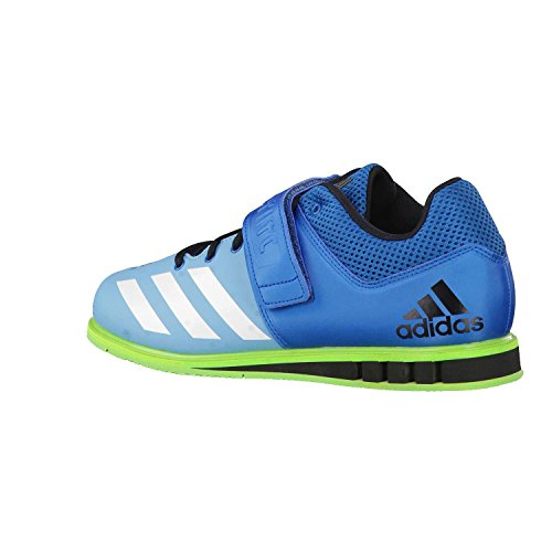 adidas Powerlift 3 Weightlifting Chaussure - SS18 Unity Blue F16/Ftwr White/Semi Solar Green