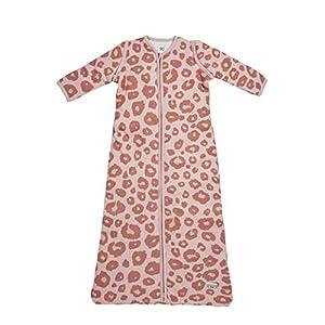 Meyco 515054Saco de dormir de invierno 110cm, pantera, color rosa