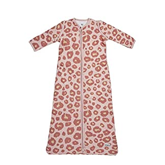 41otf%2BStkCL. SS324  - Meyco 515054Saco de dormir de invierno 110cm, pantera, color rosa