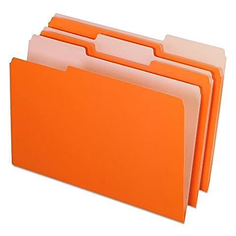 Pendaflex Pendaflex Innen Datei Ordner, 1/3Cut, Top Tab, Legal, 100/Box Legal Orange