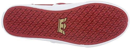Supra Damen Cuba Sneakers Rot (RED - WHITE 602)