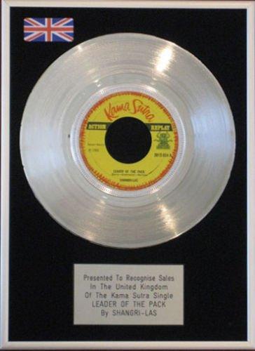 shangri-las-178-cm-platinum-disc-leader-of-the-pack