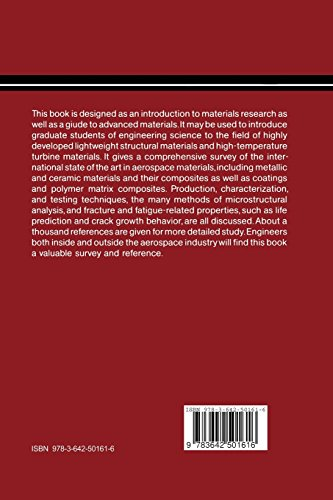 Advanced Aerospace Materials (Materials Research and Engineering)