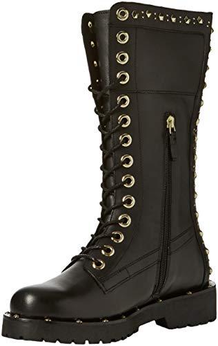Twinset Milano Damen CA8PLY Combat Boots, Schwarz (Nero 00006), 40 EU