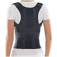 Bonvie Rückenbandage Rückenhalter Haltungskorrektur Geradehalter mit 2 Schienen für Damen und Herren zur Korrektur... preisvergleich bei billige-tabletten.eu