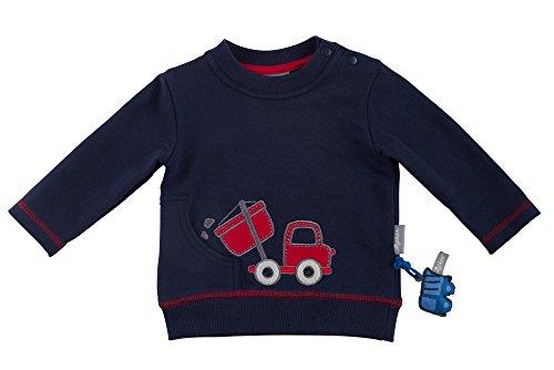 Sigikid Jungen Sweatshirt, Baby, Blau (Peacoat 260), 68