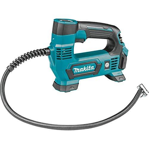 Makita MP100DZ Kompressor 12V max. (ohne Akku, ohne Ladegrät) 8,3 bar, blau, silber
