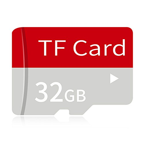 Hanbaili 32GB Micro SD SDXC Speicherkarte Plus Adapter Pack (Klasse 10) Ultra High Speed ​​TF MicroSDXC 4K Flash-für Handy, Tablet PCs, GPS, Drohne, Kamera (Dv-konverter)