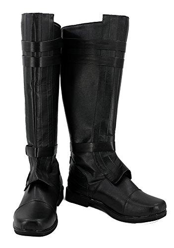 Star Wars Anakin Skywalker Stiefel Karneval Schuhe Damen Cosplay Boots 44 (Wars Stiefel Star)