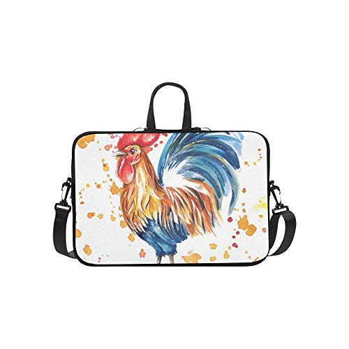 Rooster Rooster Year Cockerel Neue Aktentasche Laptoptasche Messenger Schulter Arbeitstasche Crossbody Handtasche Für Geschäftsreisen