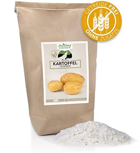 AniForte Barf Zusatz Kartoffelflocken für Hunde 5kg - Naturprodukt, Barf Ergänzungsfutter, getreidefrei, glutenfrei, ohne künstliche Zusätze, 100% Natur Ergänzung barfen, Futter