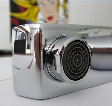 Watermeetsdesign – Infrarot IR Sensorarmatur, Waschtisch, Kaltwasserarmatur, mit Batteriebetrieb, Chrom - 8