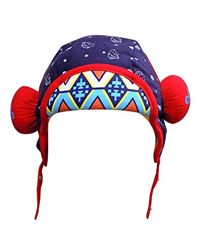 Inaaya Winter Kids Cap Winter Accessories for 4-7 Age Kids Boys and Girls 30 Gram Pack of 1