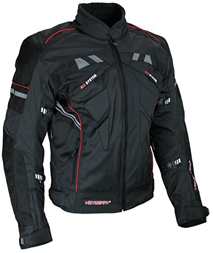 *Kurze Textil Motorradjacke Heyberry Modell*