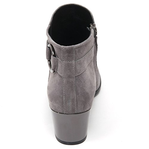 B7414 tronchetto donna HOGAN H272 stivaletto grigio boot shoe woman Grigio