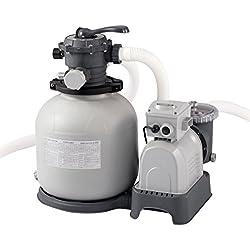 Intex 2800GPH filtro de arena Pump w/RCD, 220–240V, Gris, 62x 56x 60cm, 28648GS