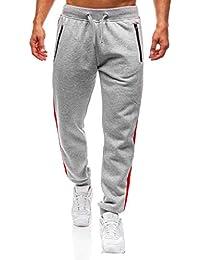 Casuales Pantalones para Hombre,Pantalones Deportivos para Hombre Pantalones Deportivos Joggers de otoño e Invierno con Estampado de algodón Pantalón de chándal Estampados