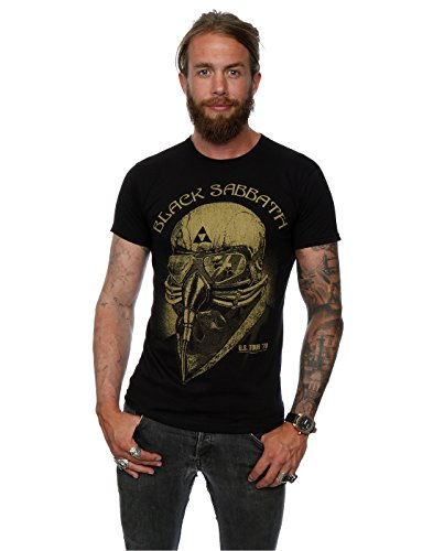 Black Sabbath hombre Tour 78 Camiseta XXX-Large Negro