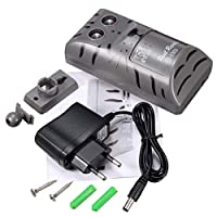 SHREWAS Electronic Ultrasonic Pest Rat Mouse Insect Rodent Control Repeller