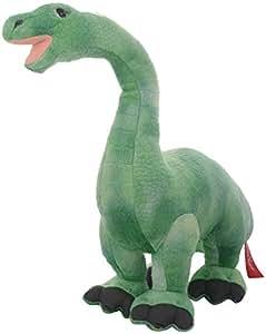 Hamleys Dinosaur Brontosaurus Soft Toy, Green (12-inch)