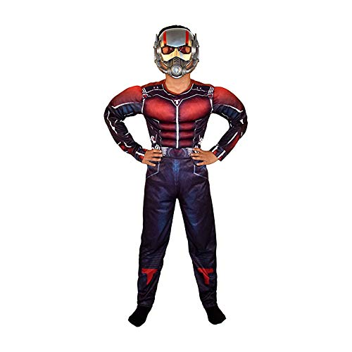 ASJUNQ Halloween COS Vêtements Enfants Captain America Iron Man Optimus Premier Vert Géant Spiderman Vêtements Vêtements,W-S