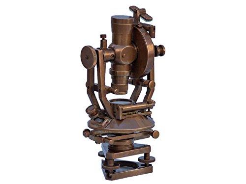 Preisvergleich Produktbild Hampton Nautisches li-1513-an Antik Messing Theodolit 25, 4 cm – Vintage Nautisches Instrument – Antik Theodolit