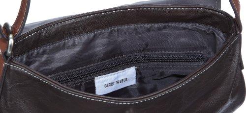 Gerry Weber Borsa Lembo S 08/03 / 16.484-868 Sacchetti Di Spalla Delle Signore, 23x21x5.5 Marrone / Marrone Scuro