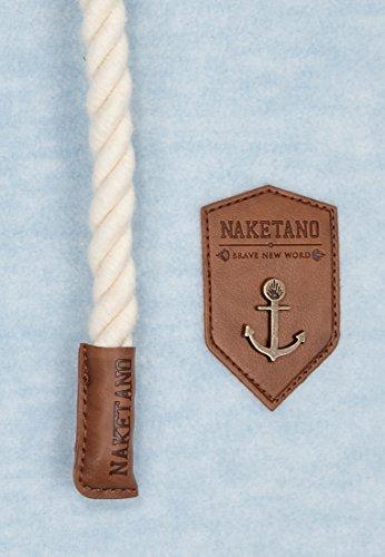 Naketano Male Zipped Jacket Mach Et Otze Heavenly Ice Melange