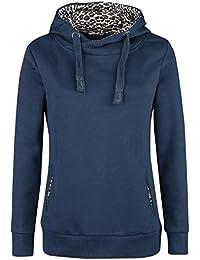 Sublevel Ladies Leo Hoodie Girl-Kapuzenpulli blau XS